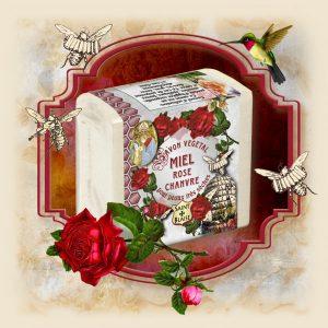 Savon au Miel - Rose & Chanvre